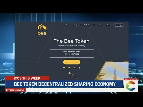 ICOS This Week: Bee Token A New Era Of Decentralized Accommodation, BlockEx and More !