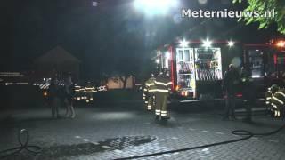 Auto brand dierenartsen praktijk Ommen
