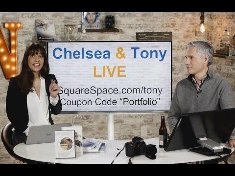 Tony & Chelsea LIVE: Light Painting Photos, Photo News, Portfolio Reviews!