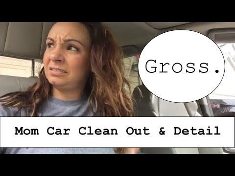 Clean My Car With Me! // Car Interior Clean Out & Detail
