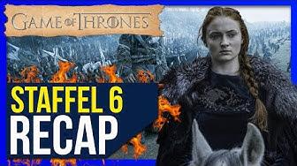 Game of Thrones Staffel 6 ♦ Zusammenfassung / Recap ❄🔥