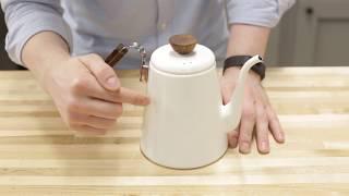 Hario Bona Enamel Pouring Kettle Overview