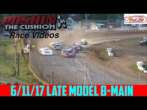 Angell Park Speedway - 6/11/17 - Late Models - B-Main