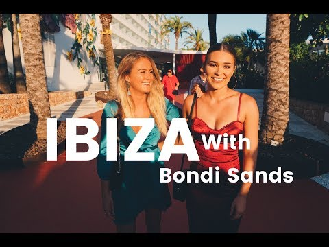 BONDI SANDS TAKES STEPH TO IBIZA