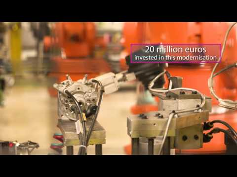 Smart Industrial Capabilities in Western France  - UK Success Story - GKN - Le Mans