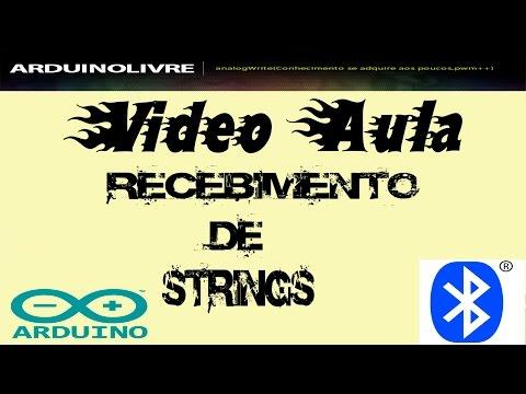 Recebimento De Strings Via Bluetooth - Arduino