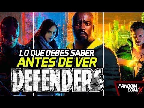 El camino a 'Defenders' - Mega resumen de las series