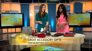 Accessory Expert, Kimmie Accessories For Valentine's Day Let's Talk Live DC WJLA ABC 7/Ch 8