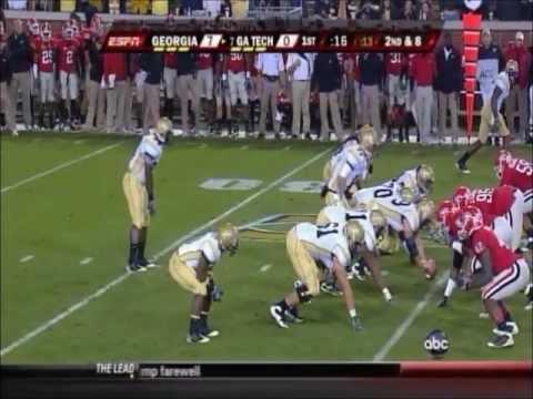 Georgia vs. #7 Georgia Tech 2009