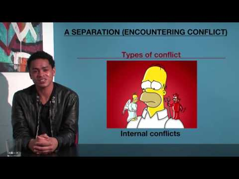 VCE English - A Separation (Encountering Conflict)