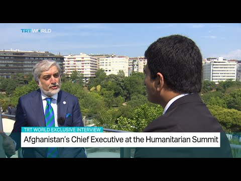 Afghanistan's Chief Executive Dr. Abdullah Abdullah talks to TRT World in an exclusive interview