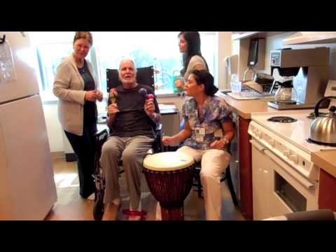St Charles Hospital Rehab rocks! (Keep Your Head Up video)