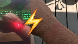 """PAVLOK"" Shock Bracelet Connected to Twitter Shocks Man Until Battery Dies 
