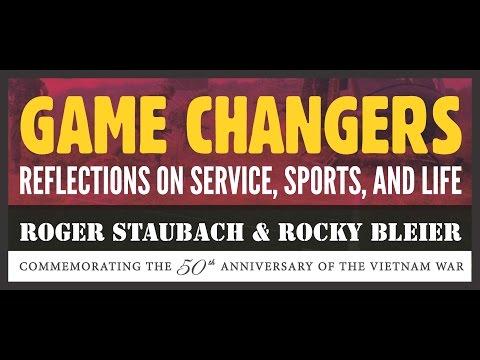 ROGER STAUBACH, ROCKY BLEIER | LIVE | THE PENTAGON @ 2PM OCT 21