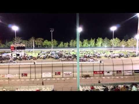 Calistoga Speedway midget races