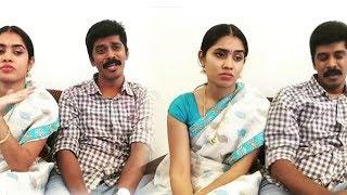 Arun Sanjana Real Couple Sathileelavathi Kamal Kovai Sarala dubsmash