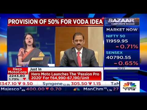 Mr V Vaidyanathan, MD & CEO, IDFC FIRST Bank, Speaks To CNBC TV18 On Bank's Vodafone Idea Exposure