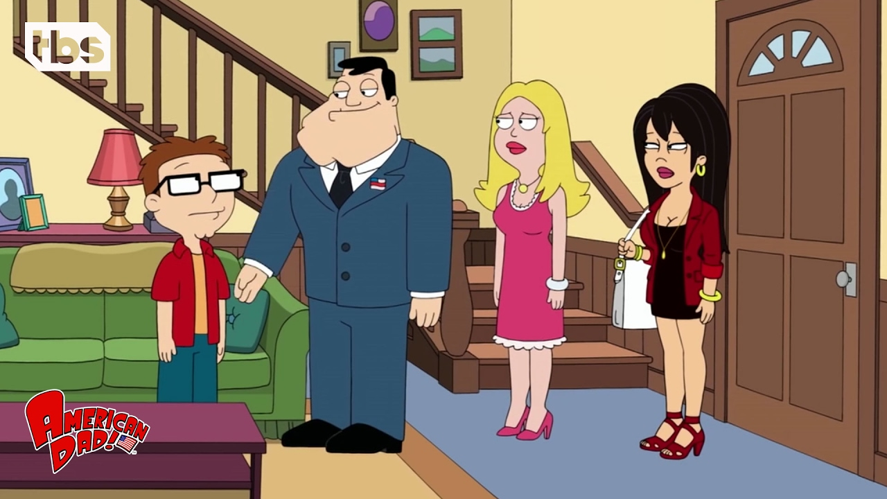 American dad francine and haley make out — img 5