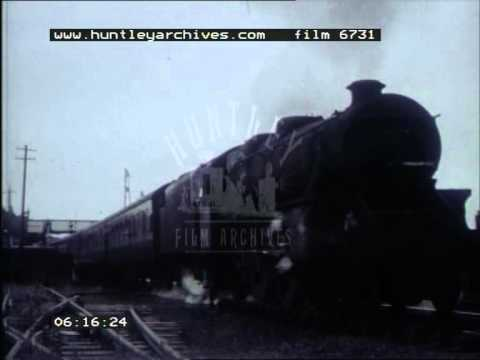 Black Fives on the Great Central Railway, 1950