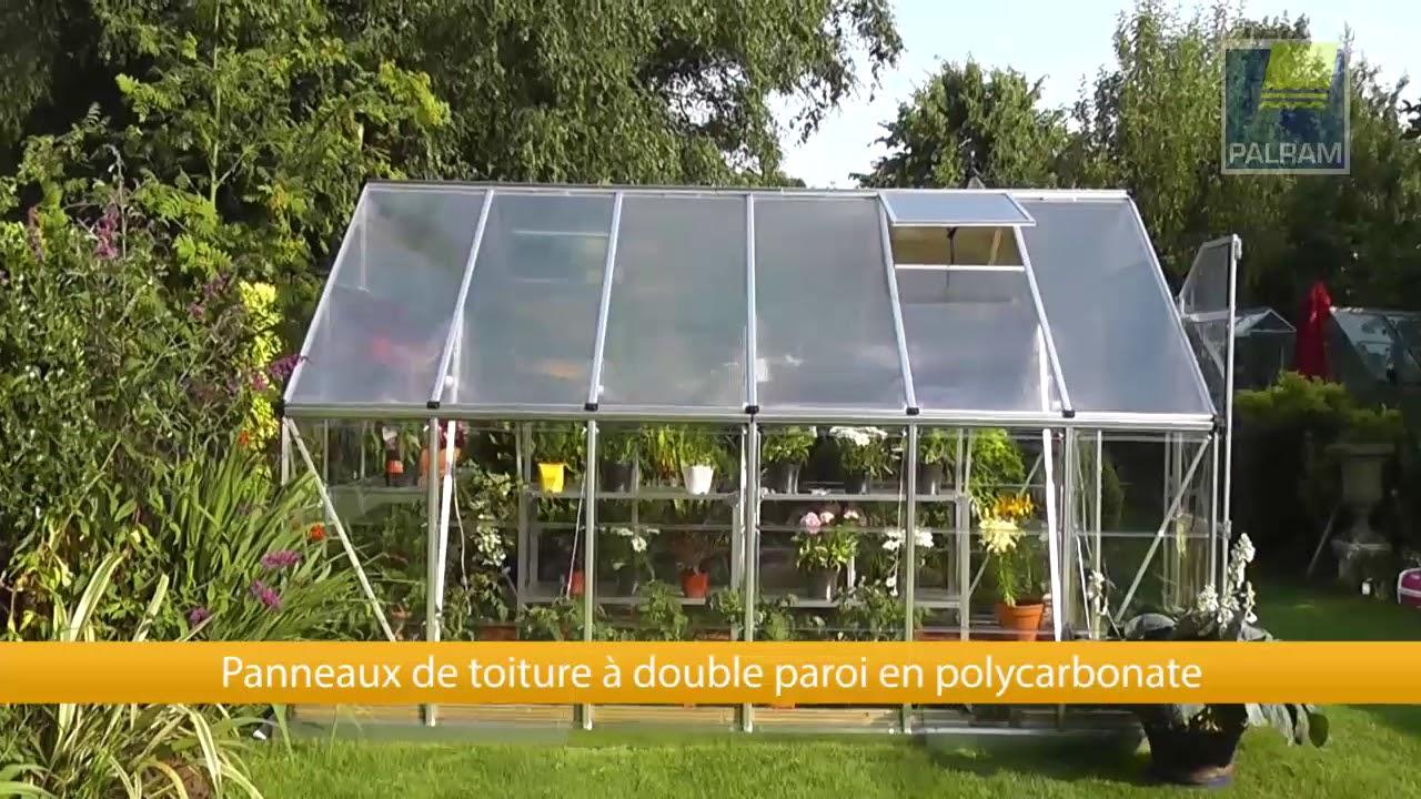 Oogarden serre de jardin polycarbonate grand luxe 9m - Serre jardin polycarbonate caen ...