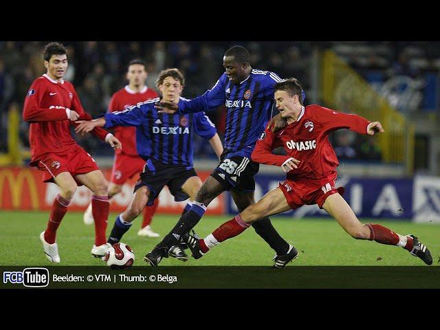 2006-2007 - UEFA-Cup - 07. Groep B Match 3 - Club Brugge - Dinamo Boekarest 1-1