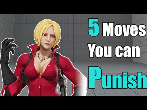 Street Fighter V CE : 5 Moves you can punish / Tips to help level up your game |