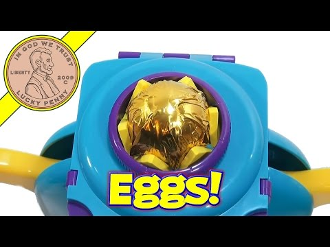Surprise Chocolate Candy Egg Maker, John Adams - Make Kinder Style Eggs!