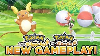 POKEMON LET'S GO PIKACHU & LET'S GO EEVEE NEW GAMEPLAY! ALOLAN POKEMON & GO PARK!