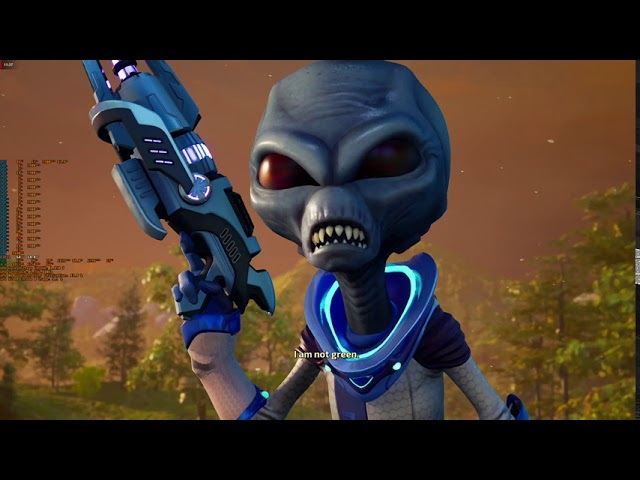 Gaming Video: Sash plays Destroy All Humans! (2020 PC remake)!