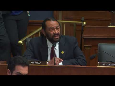 Rep. Al Green Questions Federal Reserve Chairman Jerome Powell on African American Unemployment