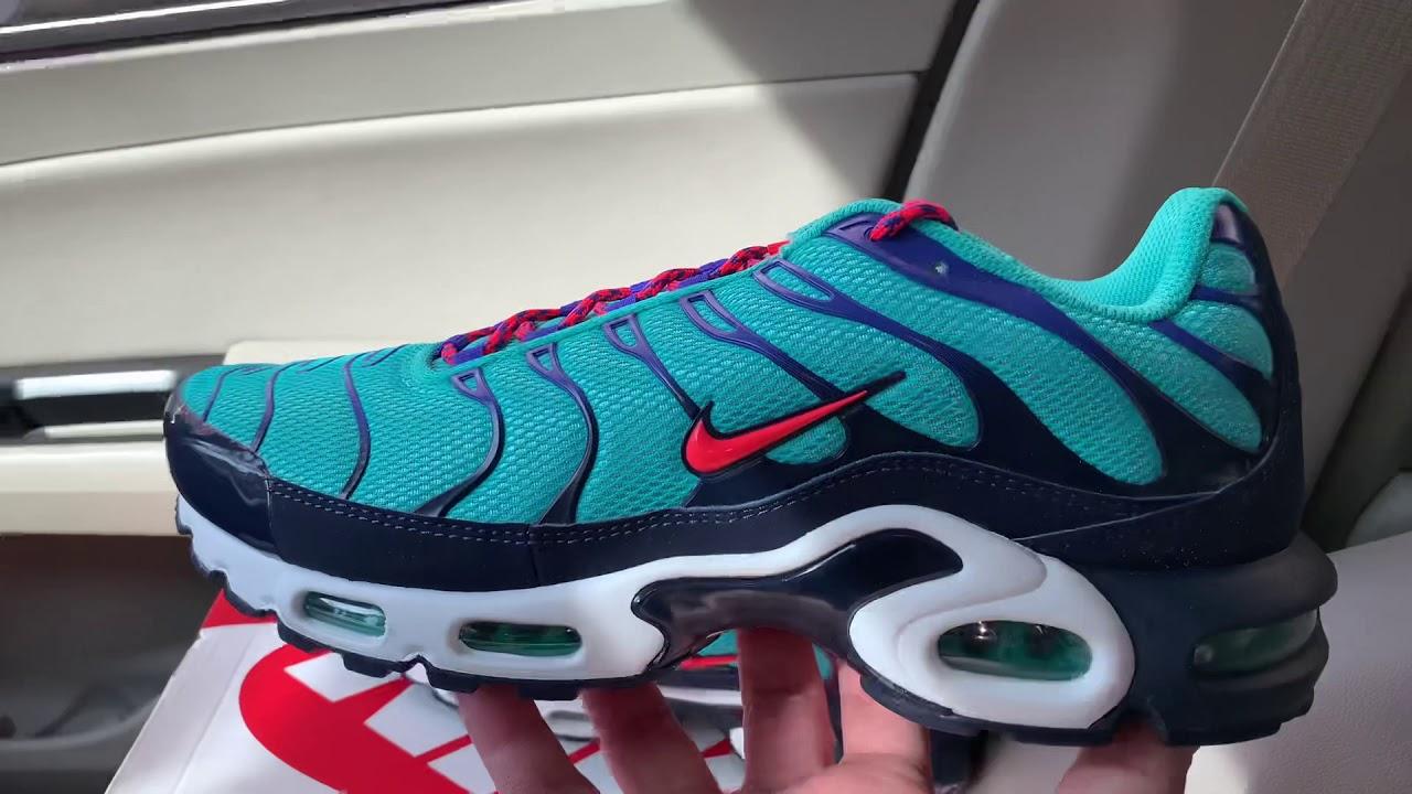 Nike Air Max Plus Hyper Jade shoes