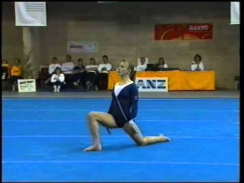 Ally Walker  Floor Level 10 Nationals 1991