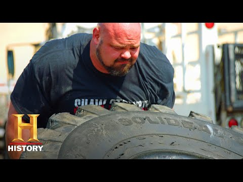 Tire Flip Challenge: The Strongest Man in History (Season 1)   History