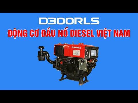 Động cơ đầu nổ diesel Việt Nam - D300RLS Trần Hưng Đạo