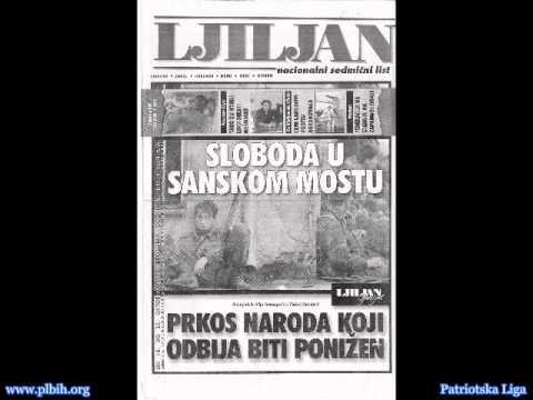 (Srpski) Radio Sanki Most '92 - Vlado Vrkes - Proglasi cetnika i najava zlocina 2/2