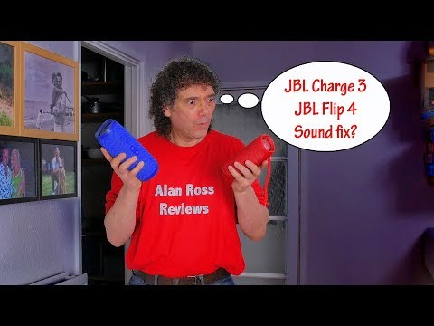 Charge 3 - Flip 4 - JBL Connect button sound enhancement - hidden eq