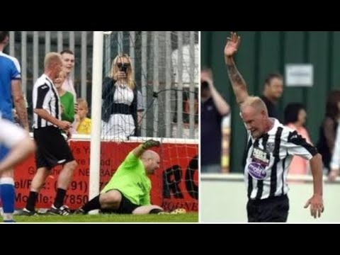 Paul Gascoigne Makes Emotional Return To Football And Scores!!!