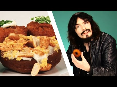 Irish People Taste Test Weird American Donuts