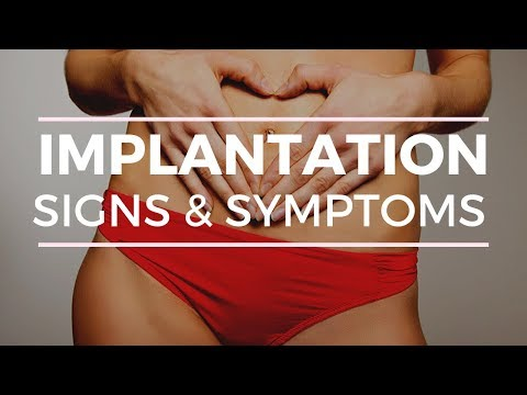 IMPLANTATION SYMPTOMS IN YOUR TWO WEEK WAIT