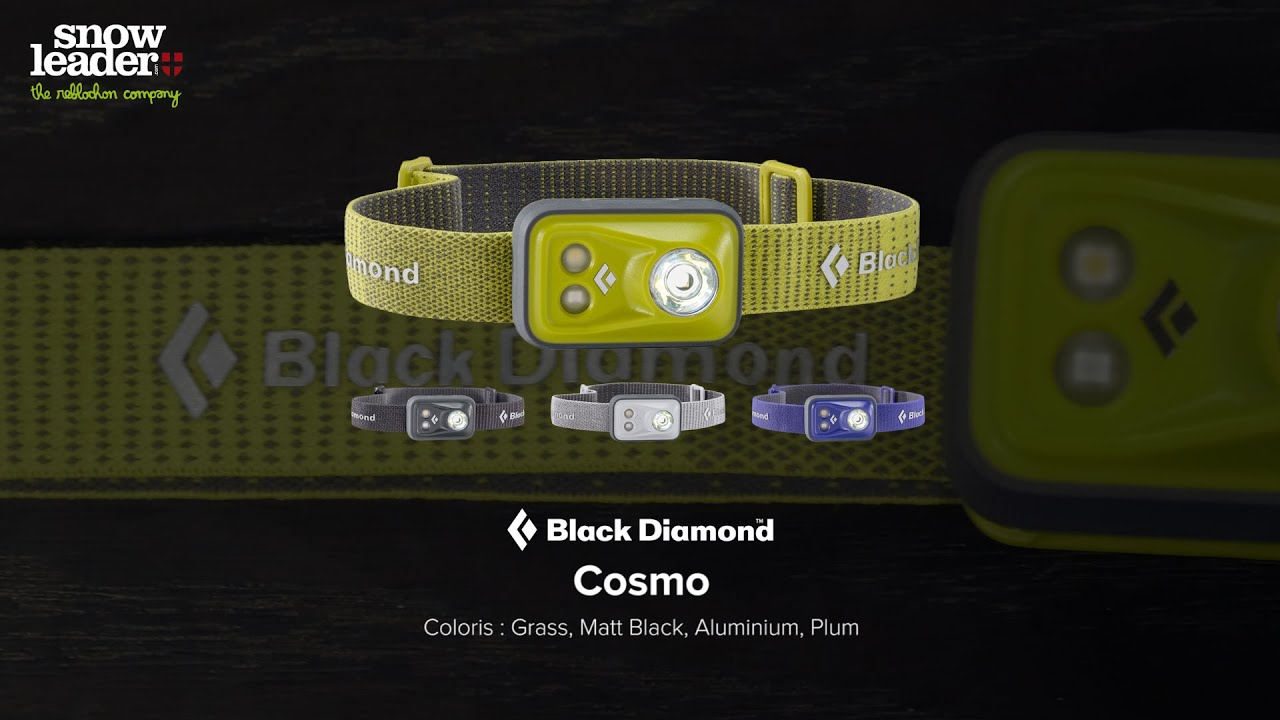Black Diamond Cosmo Lampe Frontale Snowleader Com Youtube