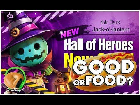SUMMONERS WAR : SUMMONERS WAR : Dusky the Dark Jack-O-Lantern Hall of Heroes - Good or Food?