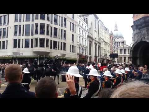 Funeral Procession - Baroness Thatcher