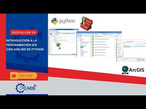 #Geotaller 03: Introducción a la Programación GIS con Add Ins de Python