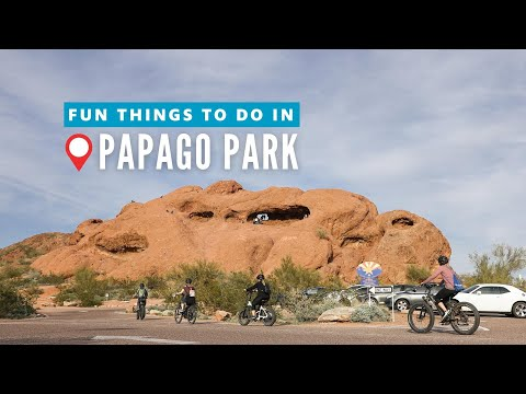 Fun Things to Do in Tempe at Papago Park, Presented by Tempe Tourism