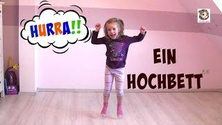 Ein Hochbett für das Kinderzimmer - Aufbau und Probe liegen ♥ Hannah Spezial