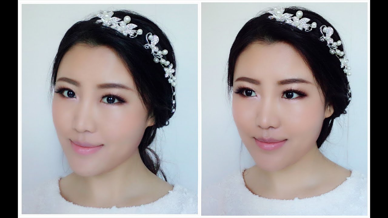 Korean Wedding Makeup Tutorial : Easy Bridal Makeup Tutorial/Asian Bridal Makeup/Korean ...