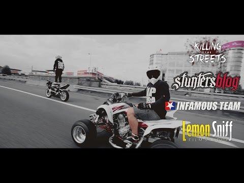 Illegal Polish Street Stunts - Katowice 2014 [Lemon Sniff Film Studio]