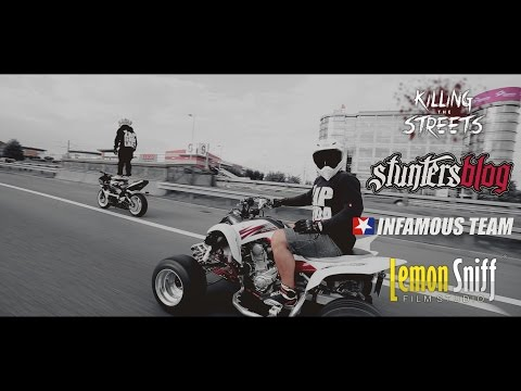 Illegal Polish Street Stunts - Katowice 2014 [Lemon Sniff Film Studio]