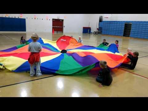 Parachute Game Sharks Amp Lifeguards Youtube