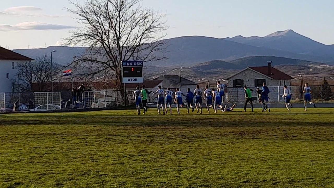 Slavlje poslije završetka utakmice OSK - Mladost